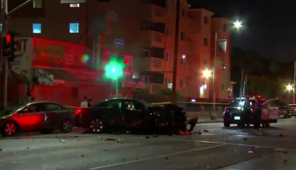 Los Angeles, CA - 1 Killed in Illegal Street Racing in South